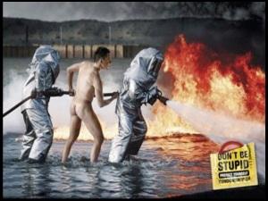 Men In Fire US Ad